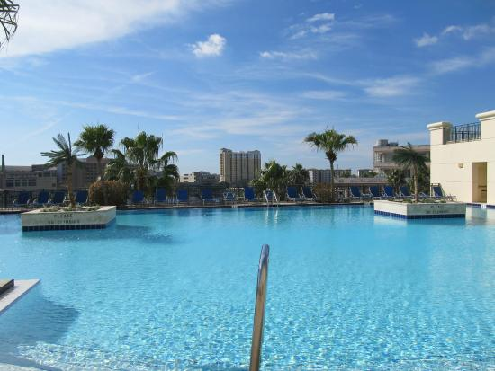 Tampa Marriott Waterside Hotel Marina Roof Top Pool