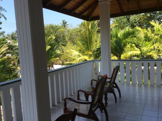 Surf Villa : Terrace