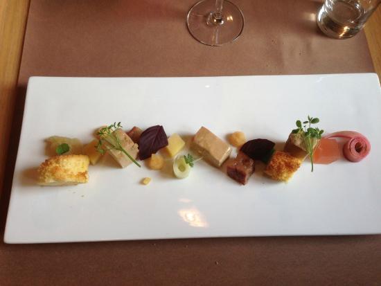 Chateau de Bourglinster : Foie gras de canard