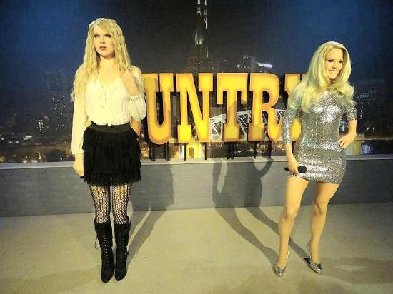 Hollywood Wax Museum Taylor Swift