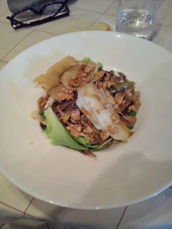 Creminati : Insalata di carciofi, grana e noci