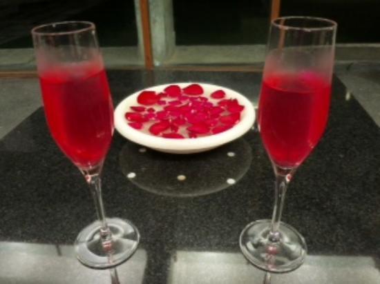RAAS Devigarh : Willkommensdrink