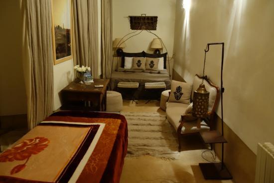 Riad Khol : chambre