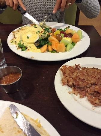 Brunch Cafe: Vegi Potato Pancake
