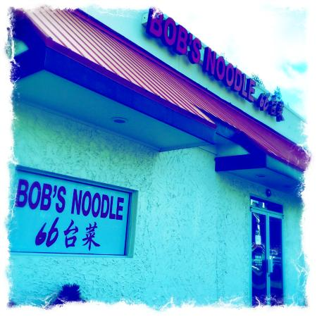 Bobs Noodle 66: Front of the restaurant