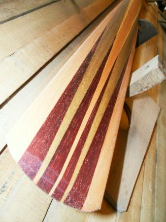 The workshop of Paolo Brandolisio: paddles