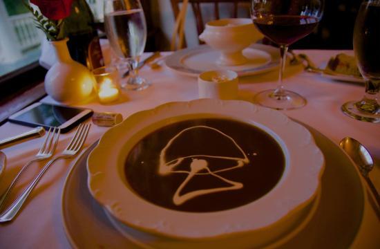 Joel Palmer House: Wonderful soup