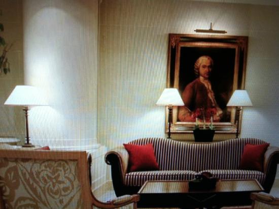 "Hotel Royal - Manotel Geneva: ""Королевское"" лобби"