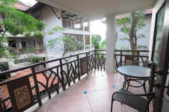 Anyavee Ao Nang Bay Resort: Balcony view