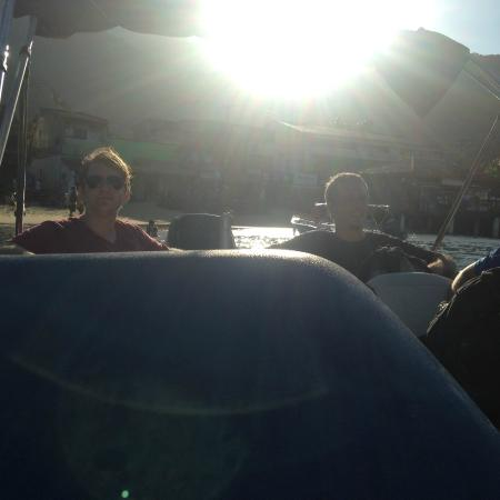 Rio by Guto: Speed boat ride back