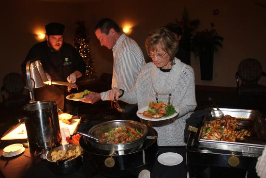 Holiday Inn Fort Wayne-IPFW & Coliseum: Food was delicious