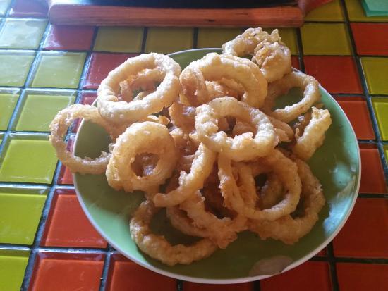 Cafe Havana: Onion rings