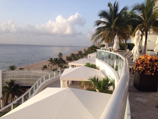 The Ritz-Carlton, Fort Lauderdale: Cabannas view