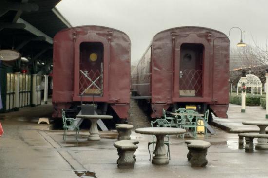 restored train cars picture of chattanooga choo choo
