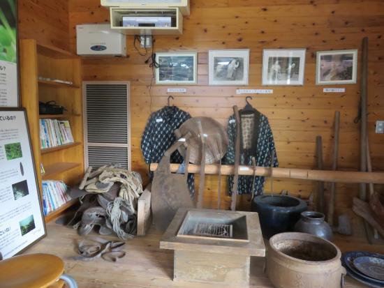 Kinbo Morinoeki Michikusakan: 館内の展示物