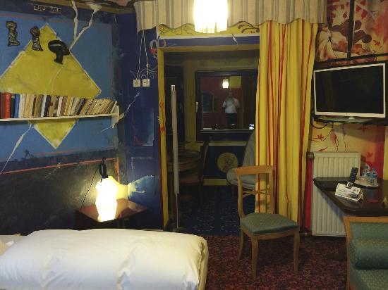 Design-Hotel Eifel: Zimmer zur Rückseite