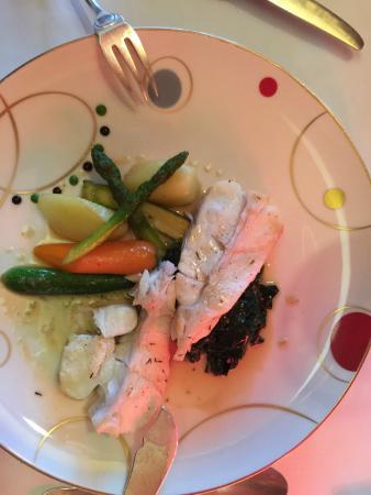 Restaurant La Matelote: Le Turbot au beurre de thym