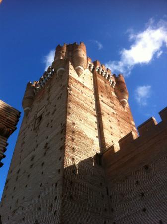Castillo de la Mota: Torre del Homenaje.