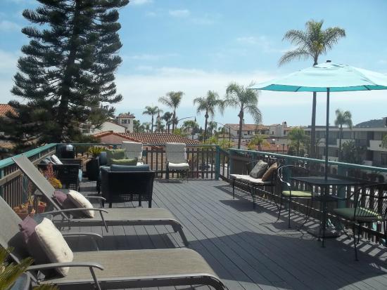 Presidio Motel: Sun deck