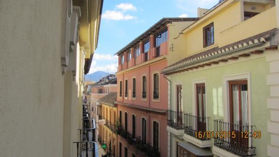 Hotel Navas: view