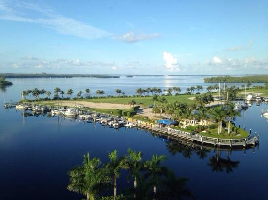 The Westin Cape Coral Resort At Marina Village: Amazing view from the Mariner suite!