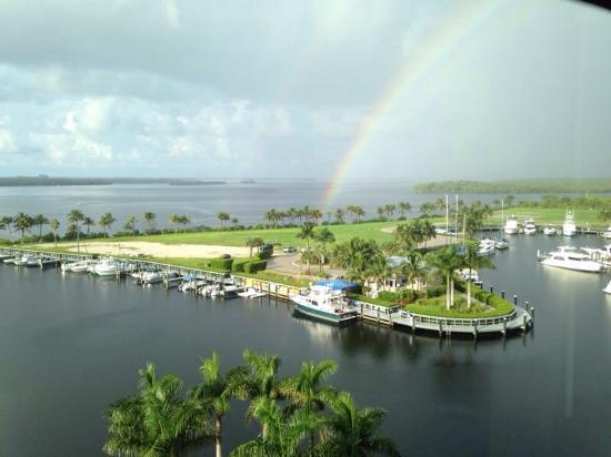 The Westin Cape Coral Resort At Marina Village: ...even in the rain!