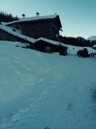 Hotel Panorama al Bich : Poca neve!