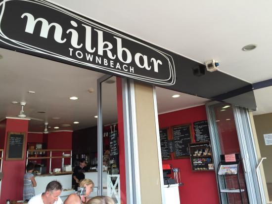 Milkbar: Great spot for coffee