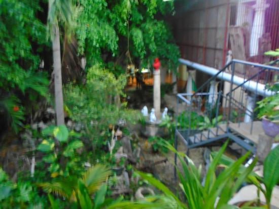 Hotel Trinidad Galeria: jungle court yard