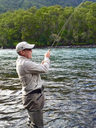 Jack Trout Fly Fishing: Pêche à Rio Petrohue Chilie avec le guide Jack Trout