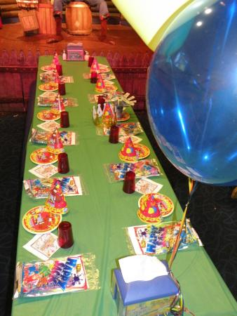 Family Fun Center & Bullwinkle's Restaurant: Birthday Party