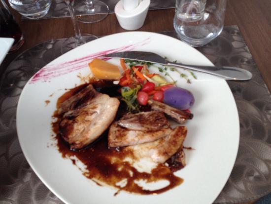 Le Clos des Capucins: Travers de porc au caramel balsamique ... Un regal