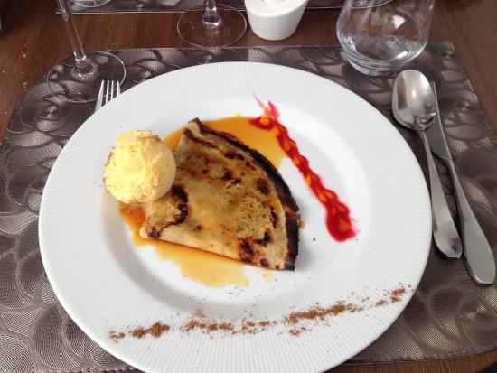 Le Clos des Capucins: La crepe suzette hummmmm