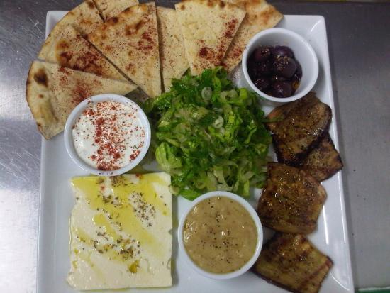 Barnacles Greek Bar & Restaurant : Greek Platter......
