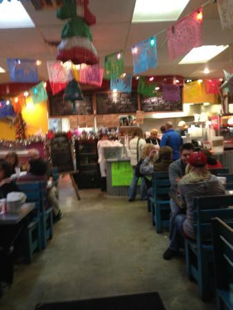 Lone Star Taqueria: Indoor Dining