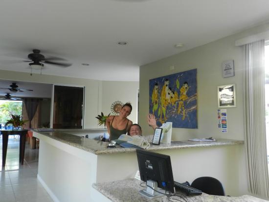 The Hideaway Hotel Playa Samara: Friendly faces!