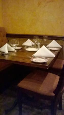 Clean Table Setting Picture Of Calabria 39 S Livingston