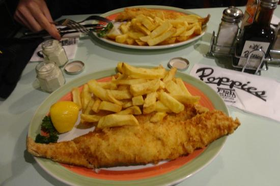 outside - Picture of Poppies Fish and Chips Camden, London - TripAdvisor