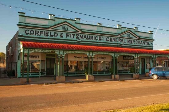 Winton, Australia: Street view entry
