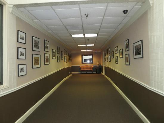 The Remington Suite Hotel and Spa Shreveport: 2nd floor bridgeway