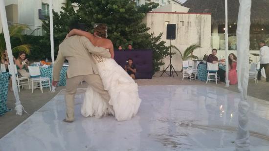 Hard Rock Hotel Vallarta Wedding Dance Floor On The Beach