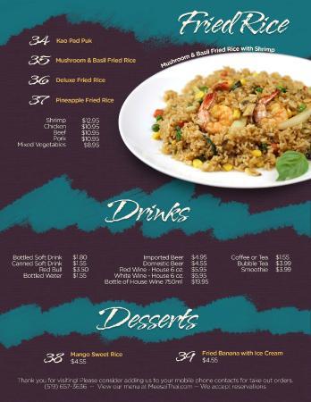 Best Thai Restaurant In Ontario