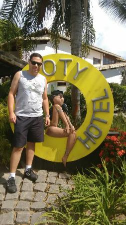 Poty Praia Hotel : Entrada do Hotel.