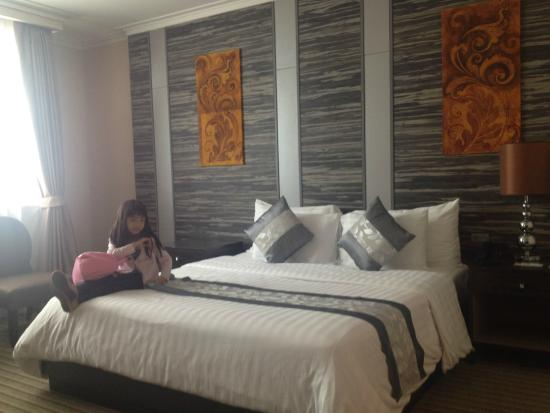 Our Room..Super Queen Size bed love this roomvery clean