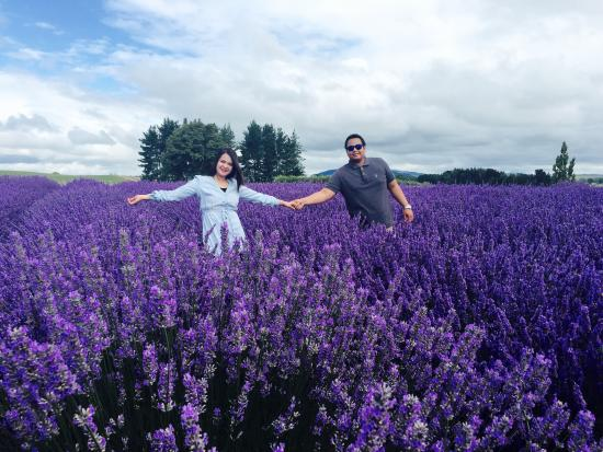 Alphra Lavenders : With my boyfriend. I really love this photo!