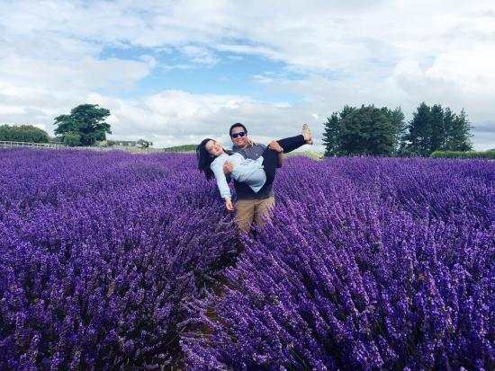 Alphra Lavenders : With my one. Before are wedding. I will use this beautiful photo on our wedding day :) thank you