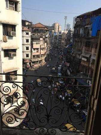 Arya Nivas: Location view At  Room Balcony