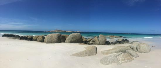 Bay of Fires Lodge: the walk
