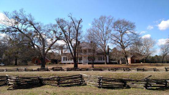 Historic Brattonsville: The Antebellum House