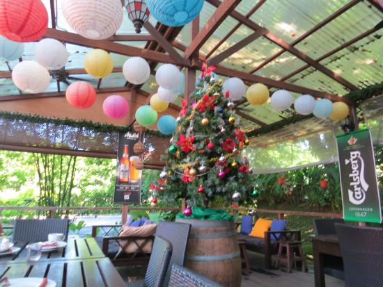 Basaga Holiday Residences: The dining area